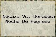 <b>Necaxa Vs</b>. <b>Dorados</b>: Noche De Regreso