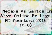 <b>Necaxa Vs Santos</b> En Vivo Online En Liga MX Apertura 2016 (0-0)