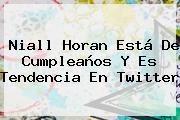 <b>Niall Horan</b> Está De Cumpleaños Y Es Tendencia En Twitter