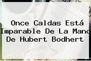 <b>Once Caldas</b> Está Imparable De La Mano De Hubert Bodhert