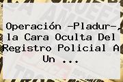 Operación ?Pladur?, <b>la Cara Oculta</b> Del Registro Policial A Un ...