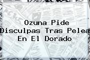 <b>Ozuna</b> Pide Disculpas Tras Pelea En El Dorado