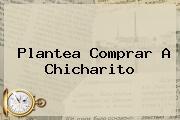 <i>Plantea Comprar A Chicharito</i>