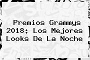 Premios <b>Grammys 2018</b>: Los Mejores Looks De La Noche