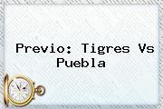 Previo: <b>Tigres Vs Puebla</b>