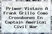 Primer Vistazo A Frank Grillo Como <b>Crossbones</b> En Captain America: Civil War