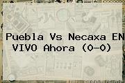 <b>Puebla Vs Necaxa</b> EN VIVO Ahora (0-0)
