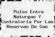Pulso Entre Naturgas Y <b>Contraloría</b> Por Las Reservas De Gas
