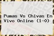 <b>Pumas Vs Chivas</b> En Vivo Online (1-0)