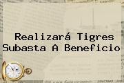 Realizará <b>Tigres</b> Subasta A Beneficio