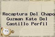 Recaptura Del Chapo Guzman <b>Kate Del Castillo</b> Perfil