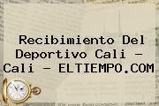 Recibimiento Del <b>Deportivo Cali</b> - Cali - ELTIEMPO.COM