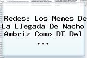 Redes: Los Memes De La Llegada De <b>Nacho Ambriz</b> Como DT Del <b>...</b>