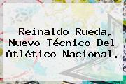 <b>Reinaldo Rueda</b>, Nuevo Técnico Del Atlético Nacional.