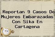 Reportan 9 Casos De Mujeres Embarazadas Con <b>Sika</b> En Cartagena