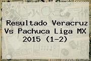 Resultado <b>Veracruz Vs Pachuca</b> Liga MX <b>2015</b> (1-2)
