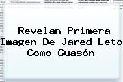 Revelan Primera Imagen De <b>Jared Leto</b> Como Guasón