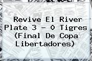 Revive El <b>River</b> Plate 3 - 0 <b>Tigres</b> (Final De Copa Libertadores)