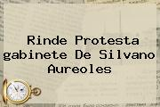 Rinde Protesta <b>gabinete De Silvano Aureoles</b>
