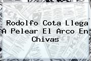 <b>Rodolfo Cota</b> Llega A Pelear El Arco En Chivas