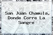 <b>San Juan Chamula</b>, Donde Corre La Sangre