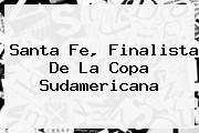 Santa Fe, Finalista De La <b>Copa Sudamericana</b>