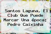 <b>Santos</b> Laguna, El Club Que Puede Marcar Una época: Pedro Caixinha