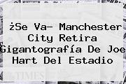 ¿Se Va? Manchester City Retira Gigantografía De <b>Joe Hart</b> Del Estadio