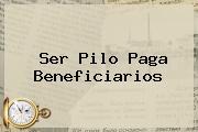 <b>Ser Pilo Paga</b> Beneficiarios