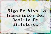 Siga En Vivo La Transmisión Del <b>Desfile De Silleteros</b>