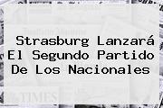 Strasburg Lanzará El Segundo Partido De Los Nacionales