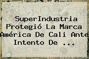 SuperIndustria Protegió La Marca <b>América De Cali</b> Ante Intento De <b>...</b>
