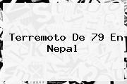 Terremoto De 79 En <b>Nepal</b>
