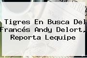 Tigres En Busca Del Francés <b>Andy Delort</b>, Reporta Lequipe