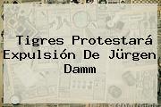 <b>Tigres</b> Protestará Expulsión De Jürgen Damm
