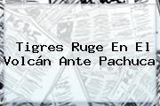 <b>Tigres</b> Ruge En El Volcán Ante <b>Pachuca</b>