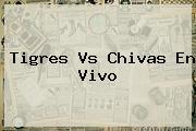 <b>Tigres Vs Chivas</b> En Vivo