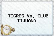 <b>TIGRES Vs</b>. CLUB <b>TIJUANA</b>