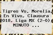 <b>Tigres Vs</b>. <b>Morelia</b>, En Vivo, Clausura 2018, Liga MX (2-0): MINUTO ...
