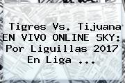 <b>Tigres Vs</b>. <b>Tijuana</b> EN VIVO ONLINE SKY: Por Liguillas 2017 En Liga ...