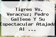 <b>Tigres Vs</b>. <b>Veracruz</b>: Pedro Gallese Y Su Espectacular Atajada Al ...