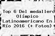 Top 6 Del <b>medallero</b> Olímpico Latinoamericano En <b>Río 2016</b> (+ Fotos)