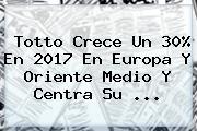<b>Totto</b> Crece Un 30% En 2017 En Europa Y Oriente Medio Y Centra Su ...