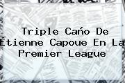 Triple Caño De Étienne Capoue En La <b>Premier League</b>