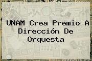 <b>UNAM</b> Crea Premio A Dirección De Orquesta