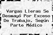 <b>Vargas Lleras</b> Se Desmayó Por Exceso De Trabajo, Según Parte Médico