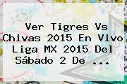 Ver <b>Tigres Vs Chivas 2015</b> En Vivo Liga MX 2015 Del Sábado 2 De <b>...</b>