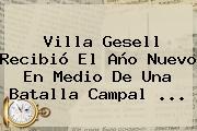 Villa Gesell Recibió El <b>Año Nuevo</b> En Medio De Una Batalla Campal ...