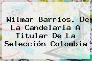 <b>Wilmar Barrios</b>, De La Candelaria A Titular De La Selección Colombia