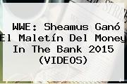 WWE: Sheamus Ganó El Maletín Del <b>Money In The Bank 2015</b> (VIDEOS)